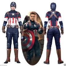 Avengers 2: Age of Ultron Captain America Steve Rogers Outfit Cosplay Co... - $174.23+