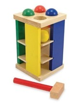 Melissa & Doug Deluxe Pound and Roll Tower - $18.50