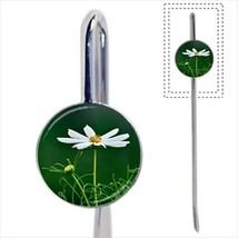 White Chamomile Flower Bookmark - Book Lover Novelty Gifts - $12.32