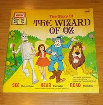 1977 Walt Disney The Wizard of Oz book and tape (only book) - $22.50