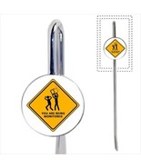 You Are Being Monitored Sign Bookmark - Book Lover Novelty Gifts - $12.32