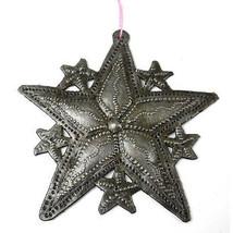 Stars Design Steel Drum Ornament - Croix des Bouquets (H) - $16.85