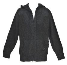 Rocawear Blak Knit Men's Full Zip Sweater Hoodie (Blak) Urban Clothing L... - $27.99