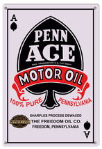 Penn Ace Motor Oil Sign - $21.78