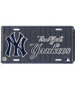 New York Yankees MLB Pinstripe License Plate - $8.85