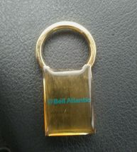 Solid brass, vintage Bell Atlantic keychain - $9.99