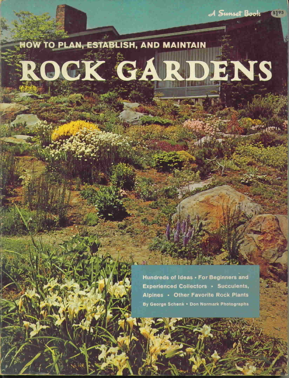 Vintage how to plan  establish and maintain rock gardens