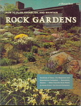 Vintage how to plan  establish and maintain rock gardens thumb200