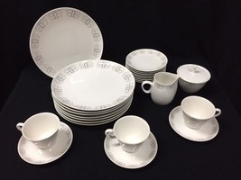 24pc Franciscan Whitestone Ware Merry Go Round Plates Sugar Creamer Cups Saucers - $89.99 & Franciscan Plates: 71 listings