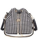 Women's Canvas Chain Drawstring Bucket Shoulder... - $18.60
