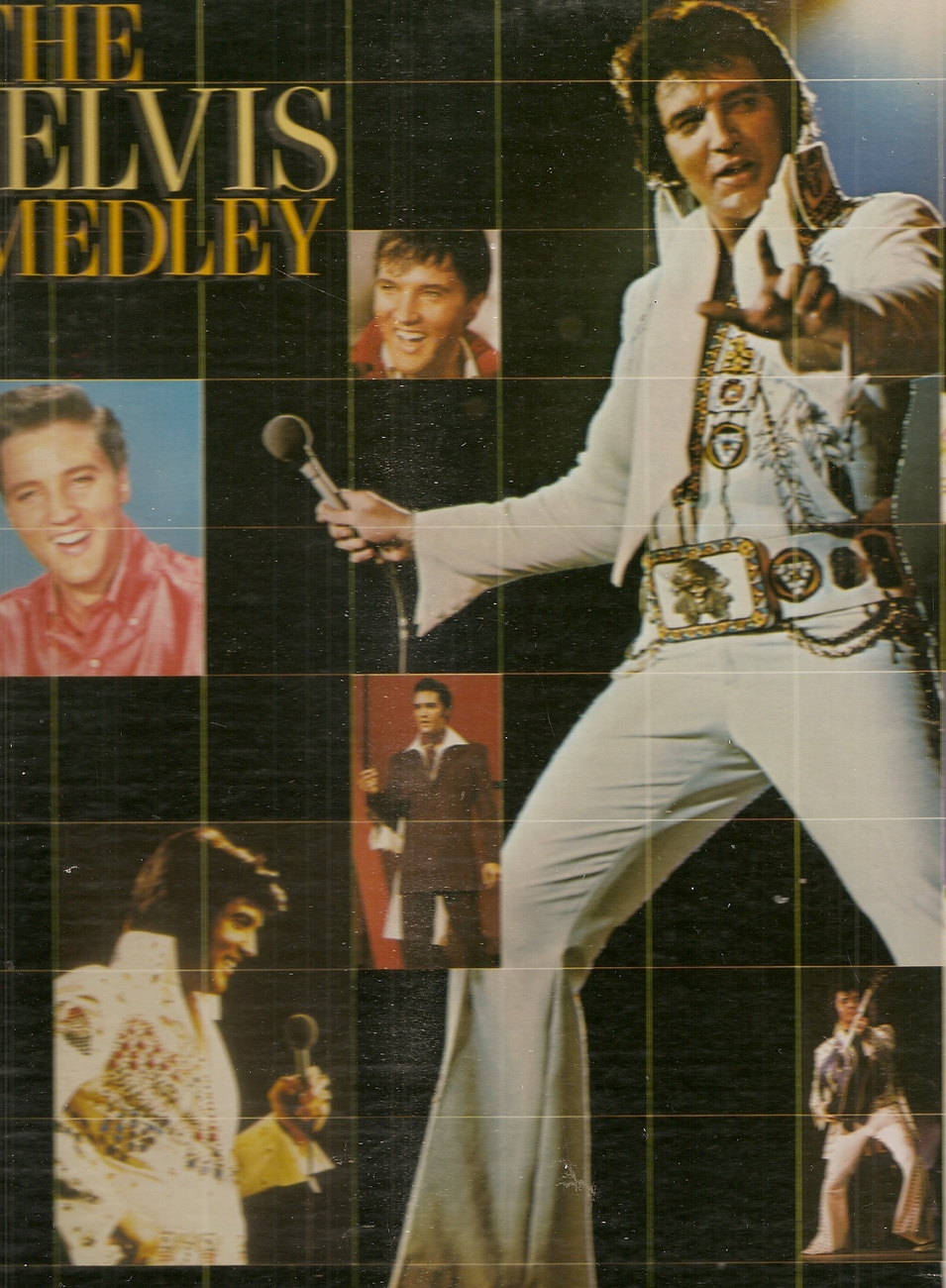 LP--Elvis Presley ‎– Elvis Medley (The)