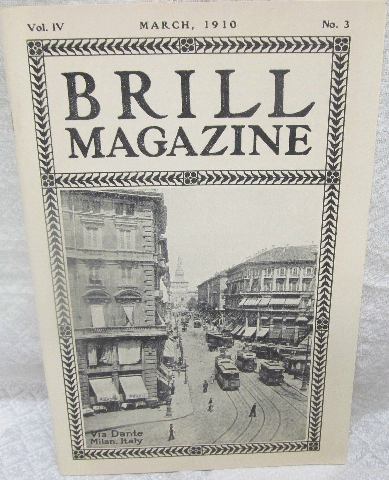 Primary image for Brill Magazine, March 1910