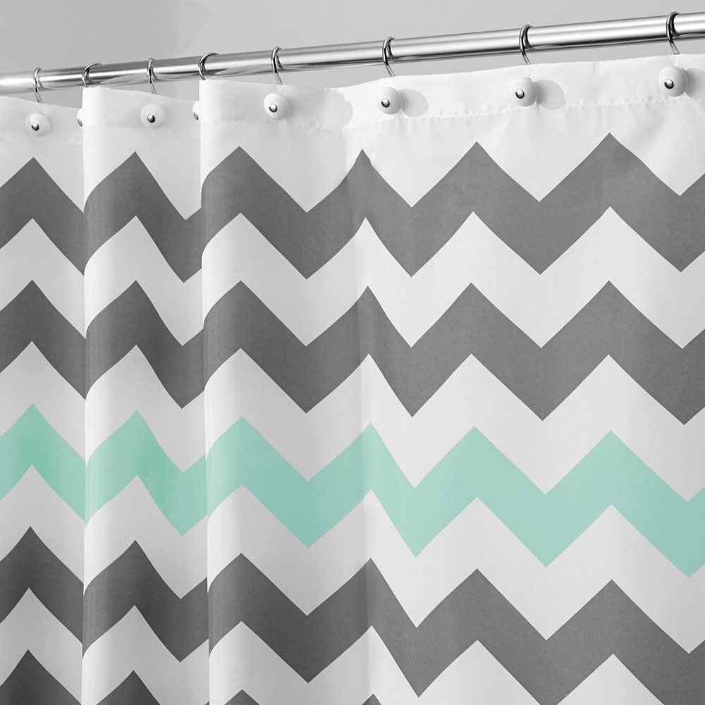 Interdesign chevron shower curtain and similar items for Inter designs