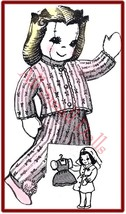 """Vintage 9 1/2"""" Cloth Doll Pattern~Nurse Outfit & More - $5.99"""