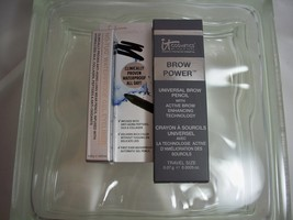 It Cosmetic Duo Brow Power Pencil and No-Tug Gel Eyeliner both travel Size - $16.75