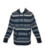 American Rag Striped Pullover Lightweight Hoodie (Navy) Small NWT - $15.99