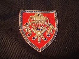 VINTAGE POLISH PATCH COAT OF ARMS HAND CRAFTED - $8.59
