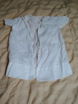 """VINTAGE WHITE SHIRT MARKED """"P HAND MADE SIZE 6"""" - $1.79"""