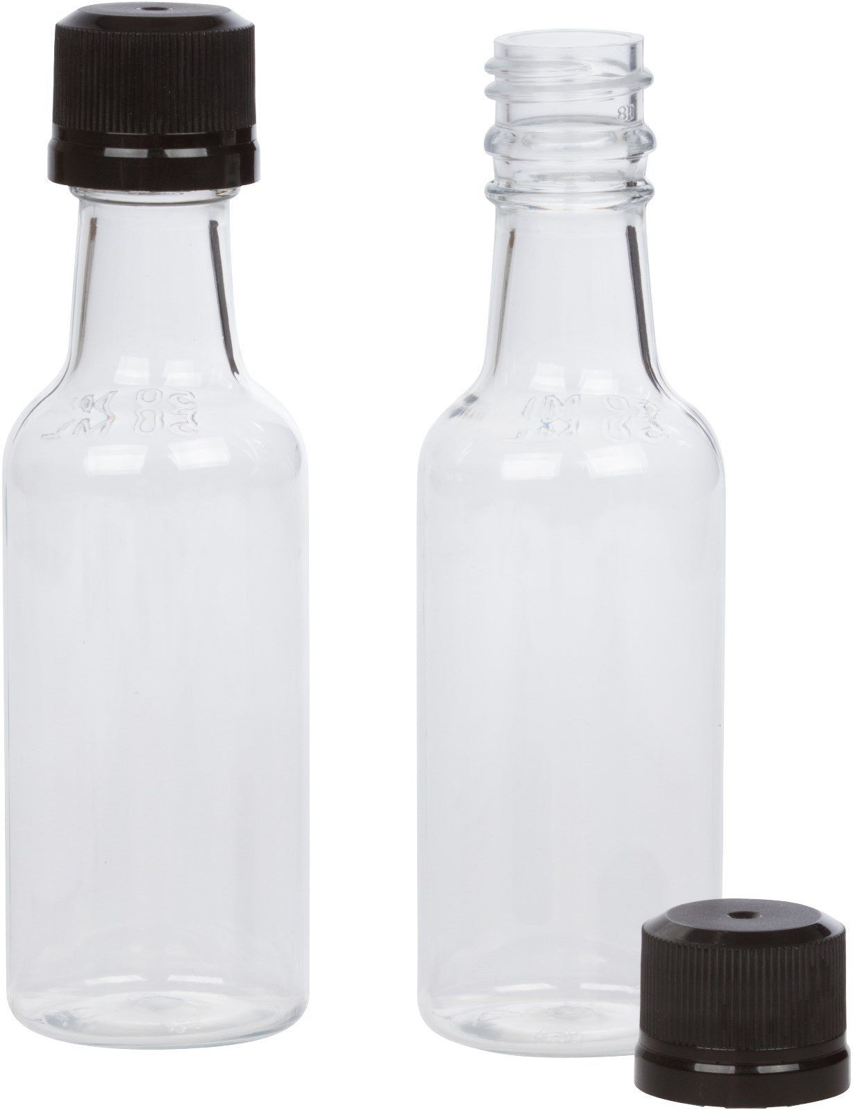 50ml mini empty plastic alcohol liquor bottle shots for What to do with empty plastic bottles