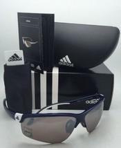 New ADIDAS Sunglasses ADIVISTA L A164 00 6092 Blue & White Frames w/LST Contrast