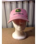 Pink John Deere Owners Edition Baseball Ball Hat Cap Strap back  - $8.55