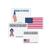 """""""Packing List Enclosed"""" Envelopes, U.S.A. Fl... - $54.99"