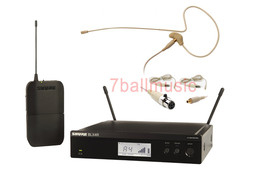 Shure BLX14R Wireless Beltpack System w/OSP HS-09 Earset Headset Microph... - $499.99