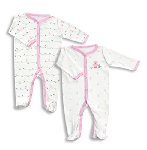 Primary image for SLEEP-N-PLAY COVERALL BABY PAJAMAS SET(2 pieces)