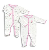 SLEEP-N-PLAY COVERALL BABY PAJAMAS SET(2 pieces) - $12.99