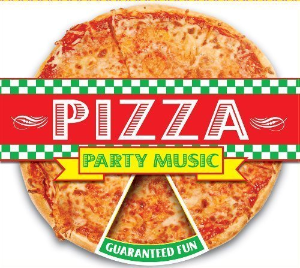 DF Pizza Party Music by The Hit Crew Cd