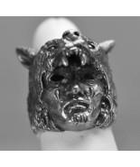 New Wolf Shaman Spirit Tribal spiritual world Real Sterling Silver ring ... - $79.99