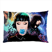 NEW Pillow Case Home Decor Crystal Castles Canadian Duo - $26.99