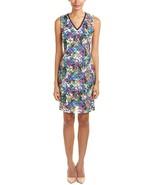 T Tahari Women's Sally Dress, Black/Multi, 8 - $31.52