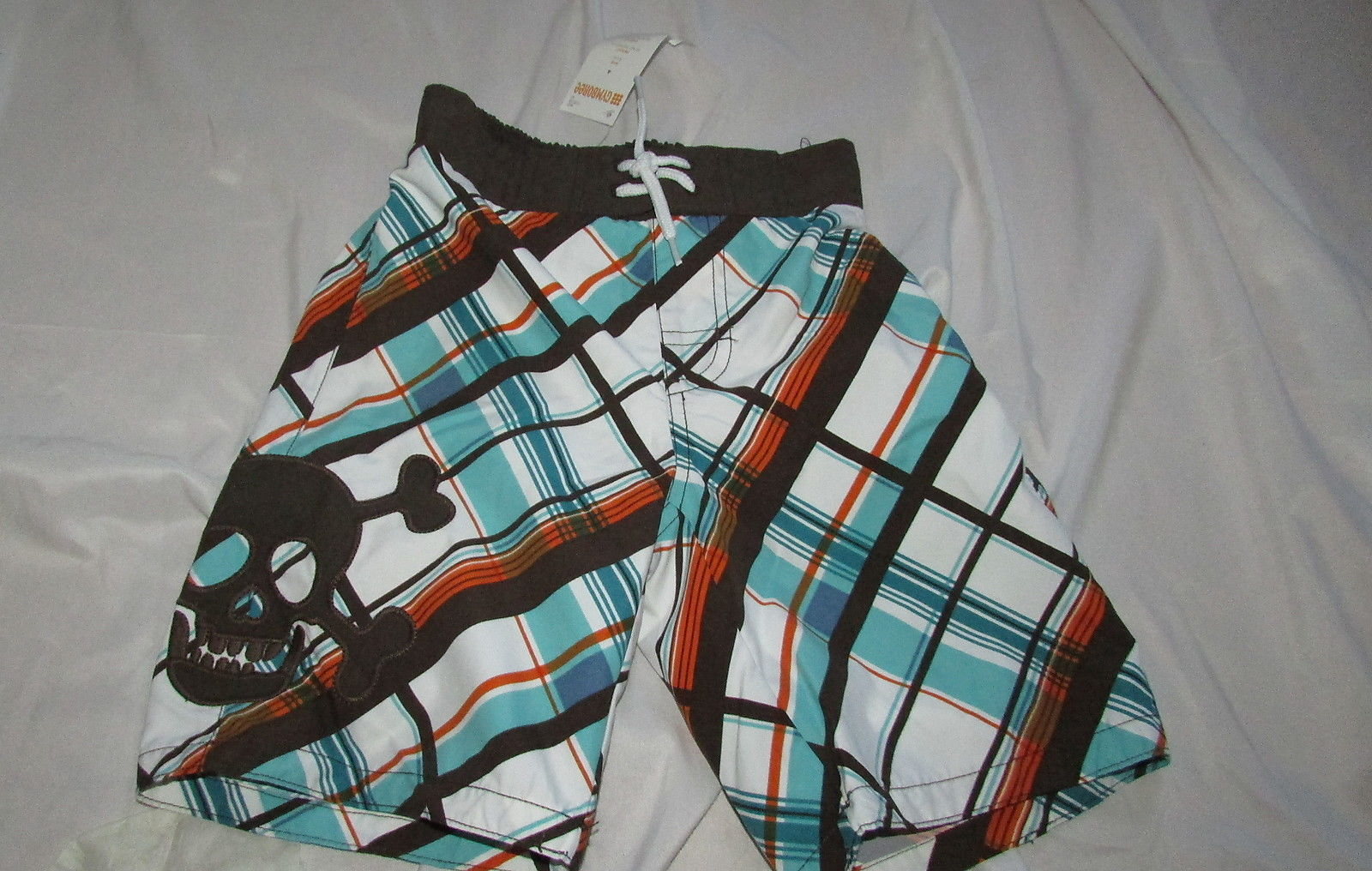 NWT Gymboree Cherry Cute Size 4 Pink Plaid Or Tiered Navy Print Skirt