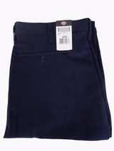 DICKIES WORK PANTS Mens Size 40 x 30 Black - $29.65