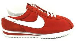 Nike Womens Shoes Nylon Cortez Sneakers Red White 304038 611 SZ 12 Rare ... - $49.99
