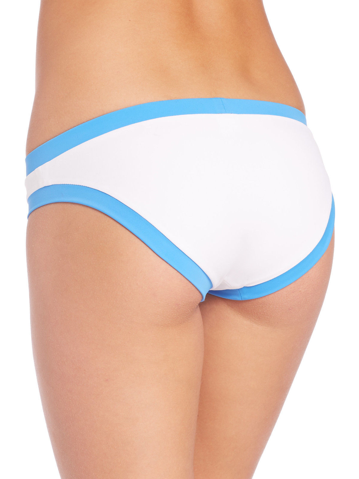 NEW Milly Cabana Amalfi Colorblock Surfer Bikini Swim Bottom L Large $95