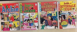 ARCHIE COMICS lot of (4) issues, as shown (1970-1976) G/VG  D - $9.89