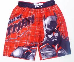 Batman Dark Knight Dc Comics Uv-50 Badeanzug Badehose Neu Jungen Größe 4/5 - $8.38