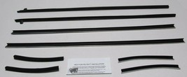 1969 Ford Mustang Coupe Window Weatherstrip Kit 8 Pcs - $104.21