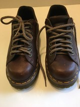 Dr. Martens Air Wair Men's Chunky Non Slip Casual Oxfords Size 6 Excellent - $39.50
