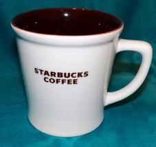 Starbucks Retired 2009 Barista Grande Brown Interior Heavy Coffee Cup Mug 16oz - $32.99