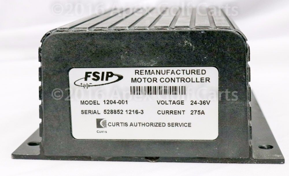 Curtis/Club Car Controller 24-36V 400A Re-manufactured Motor Controller upgraded