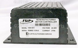 Curtis/Club Car Controller 24-36V 400A Re-manufactured Motor Controller ... - $979.99