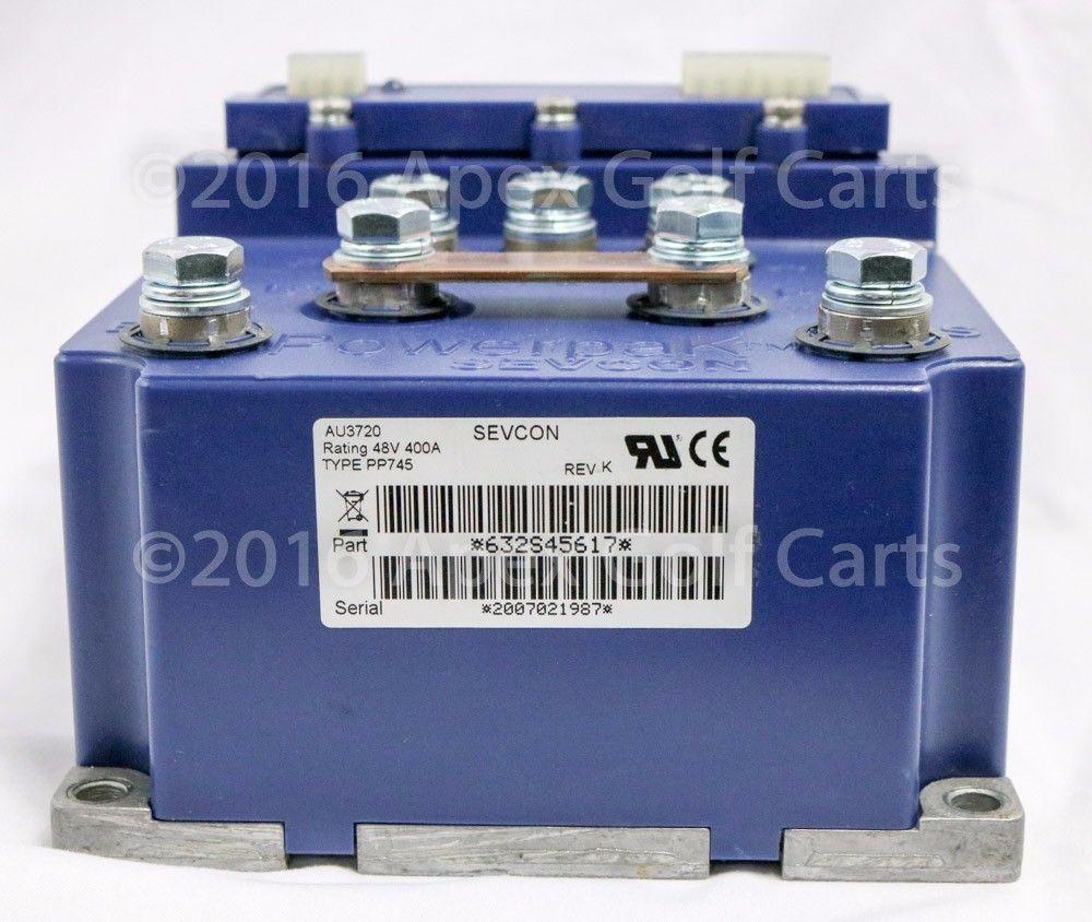 Sevcon PowerpaK/Club Car Controller 24-48v