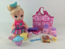 Baby Alive Doll Twinkles N' Tinkles 2015 Hasbro Interactive Light up Dia... - $40.05