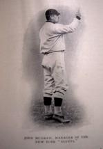 1913 historical Baseball article photos John McGraw Frank L. Chance Conn... - $9.75