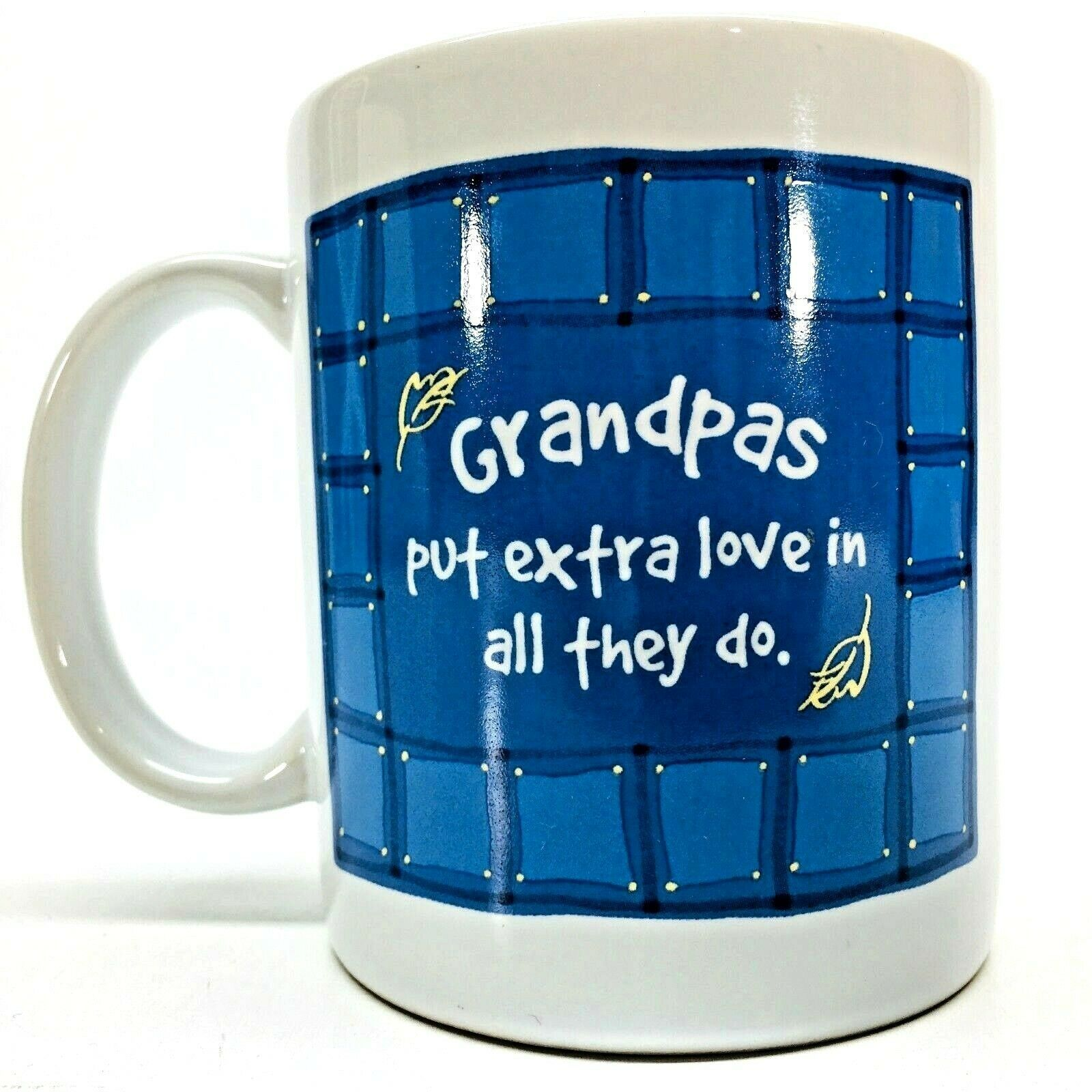 Primary image for Hallmark Cards Grandpas Put Extra Love In All They Do Coffee Mug Cup Love Gift