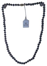 14k Yellow Gold Gray Pearl Necklace - $50.00