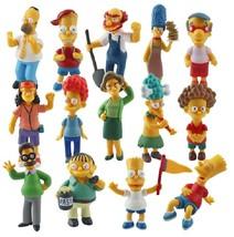 14pcs/set Anime Cartoon The Simpsons PVC Action Figures Model Toys Doll ... - $24.00